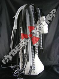 WhiteWeb Cyberlox Wig