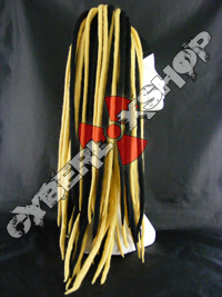 Rosa (Black / Yellow) Wool Dread Falls