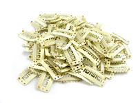 32mm Blonde Weft Hair Clips (pack of 10)