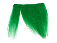 "Clip-In Fringe - 8"" Human Hair - Apple Green"