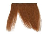 "Clip-In Fringe - 8"" Human Hair - #30 Auburn"