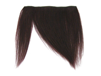 "Clip-In Fringe - 8"" Human Hair - #99J Black Burgundy"
