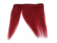 "Clip-In Fringe - 8"" Human Hair - Burgundy"