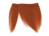 "Clip-In Fringe - 8"" Human Hair - Copper"