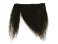 "Clip-In Fringe - 8"" Human Hair - #2 Darkest Brown"