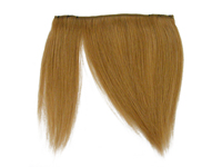 "Clip-In Fringe - 8"" Human Hair - #27 Honey Blonde"