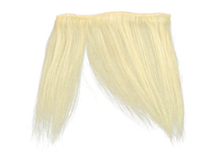 "Clip-In Fringe - 8"" Human Hair - #60 Light Blonde"
