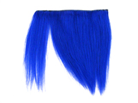 "Clip-In Fringe - 8"" Human Hair - Neon Blue"