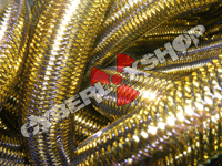 Tubular Crin - Large - Antique Gold Metallic (5 yds)