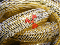 Tubular Crin - Large - Bright Gold Metallic (5 yds)