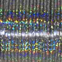 Britelace - 50 Yard Spool - Silver Holographic
