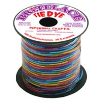 Britelace - 100 Ft Spool - Clear Tye Dye