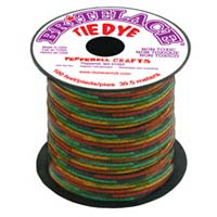 Britelace - 100 Ft Spool - Clear Green Tye Dye