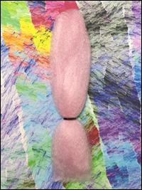 CyberloxShop Classic Kanekalon Jumbo Braid - Candyfloss Pink