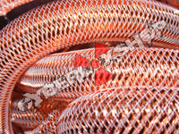 Tubular Crin - Large - Copper Metallic (5 yds)