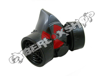 Cyber Respirator - Black (2 Canisters, 1 Valve)