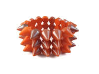 Cyber Spike Bracelet - Burnt Orange (Multi-Tone)