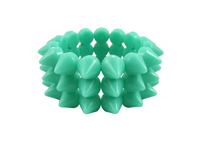 Cyber Spike Bracelet - Peppermint Green