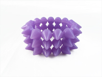 Cyber Spike Bracelet - Purple