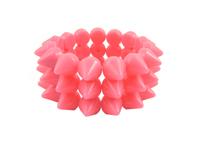 Cyber Spike Bracelet - Sweet Pink