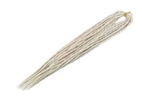 Elysee Star Dreads - #60 Silver Blonde with Pink Spiral