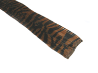 "Clip-In Extensions - Brown / Black Tiger Zebra Print 12"" (pack of 2)"