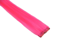 "Clip-In Extensions - Neon Pink 12"" (pack of 2)"