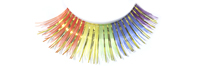 Stargazer False Eyelashes #01 (Rainbow with Gold Foil)
