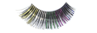 Stargazer False Eyelashes #02 (Black with Rainbow Foil)