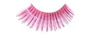 Stargazer False Eyelashes #21 (Bright Pink with Foil)
