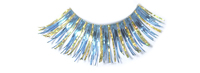 Stargazer False Eyelashes #25 (Turquoise with Gold Hologram Foil)