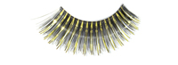Stargazer False Eyelashes #03 (Black & Gold Foil)