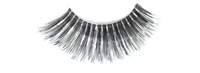 Stargazer False Eyelashes #04 (Black & Silver Foil)