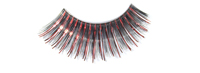 Stargazer False Eyelashes #05 (Black & Red Foil)