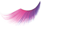 Stargazer False Eyelashes #55 (Extra Long Pink & Purple)