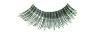Stargazer False Eyelashes #06 (Black & Green Foil)