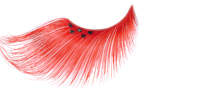 Stargazer False Eyelashes #64 (Extra Long Red with Black Diamonds)