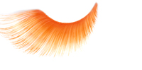 Stargazer False Eyelashes #69 (Extra Long Neon Orange)