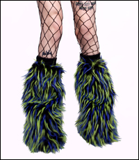 Fluffy Legwarmers - Kiwi Krumble