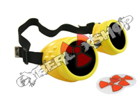 Cyber Goggles - Banana Yellow - Includes FREE Lense Design Inserts!