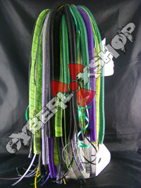 Helix - Green / Purple / Black Mix Cyberlox