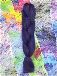 CyberloxShop Infinitique Kanekalon Jumbo Braid - Blue Chocolate