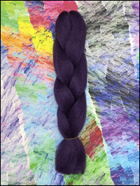 CyberloxShop Infinitique Kanekalon Jumbo Braid - Plum