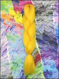 CyberloxShop Infinitique Kanekalon Jumbo Braid - Sunshine Yellow