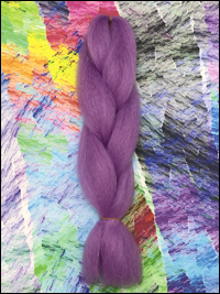 CyberloxShop Infinitique Kanekalon Jumbo Braid - Amethyst Purple
