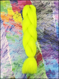 CyberloxShop Infinitique Kanekalon Jumbo Braid - Electric Banana