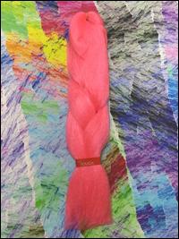 LA Trend Kanekalon Jumbo Braid - Pink