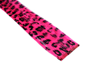 "Clip-In Extensions - Neon Pink / Black Leopard 12"" (pack of 2)"