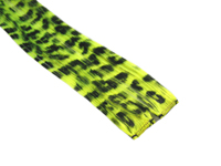 "Clip-In Extensions - Neon Yellow / Black Leopard 12"" (pack of 2)"
