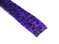 "Clip-In Extensions - Purple / Black Leopard 12"" (pack of 2)"